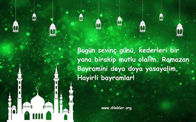 Ramazan Bayram Mesajlari 2019 Ramazan Eid Mesajlar