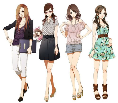 fashionable anime | anime # fashion # stylish The last two are my personal favorite.