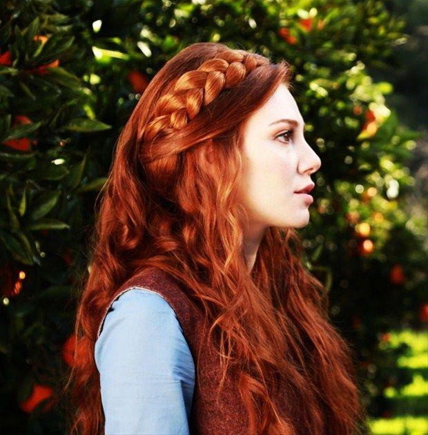 mooi rood is niet lelijk ♥ Red hair - Elçin Sangu