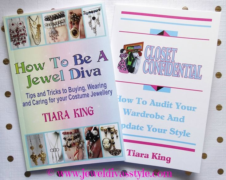 TIARA KING - JEWEL DIVA -CLOSET CONFIDENTIAL are now in paperback - http://amzn.to/2sLnXS8 (affiliate)