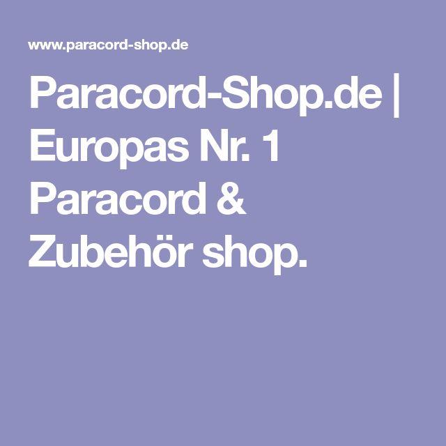 Paracord-Shop.de | Europas Nr. 1 Paracord & Zubehör shop.