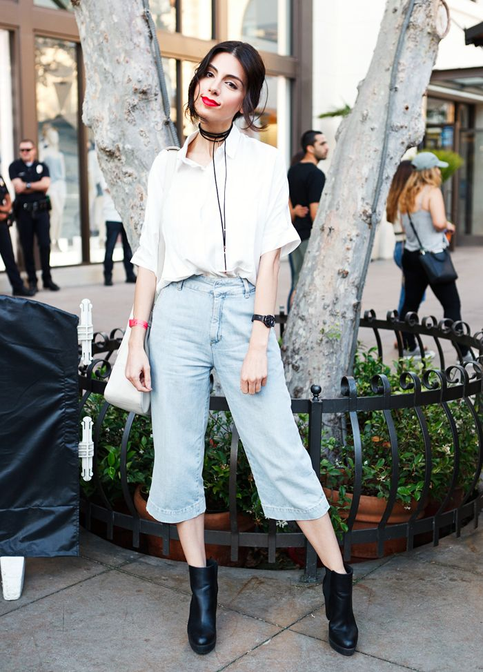 The Standout Looks From Street Style Cinema: Dirty Dancing Edition via @WhoWhatWear
