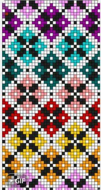 Diamond Grid Knitting Pattern : 15122 best Charts & Graphs images on Pinterest Knitting patterns, Fair ...