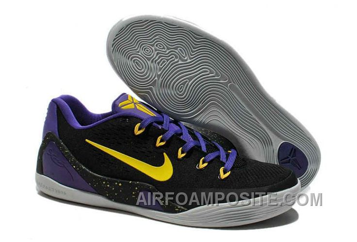 http://www.airfoamposite.com/for-sale-authentic-kobe-9-low-black-yellow-purple-646701-105.html FOR SALE AUTHENTIC KOBE 9 LOW BLACK YELLOW PURPLE 646701 105 Only $71.50 , Free Shipping!
