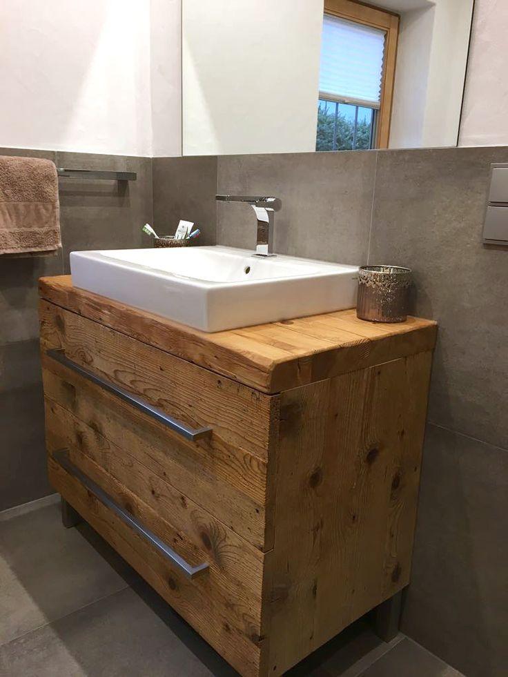 63 best Badezimmer in Holzoptik images on Pinterest  Bathrooms Bathroom and Bathroom ideas