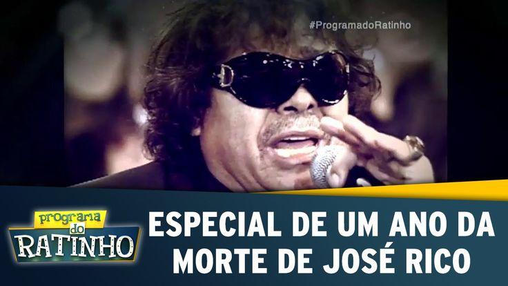 Programa do Ratinho (02/03/16) - Especial de um ano da morte de José Rico