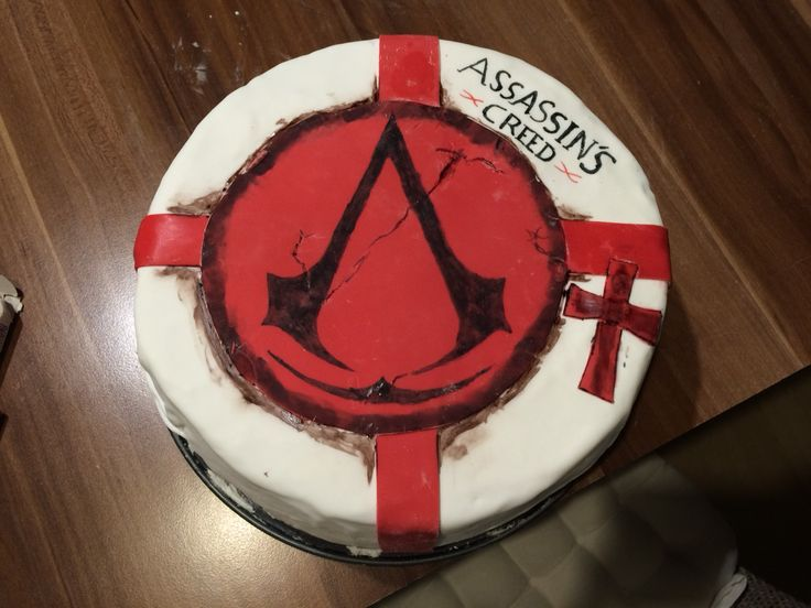 Cake Design Assassin S Creed : 17 Best images about birthday party on Pinterest Disney ...