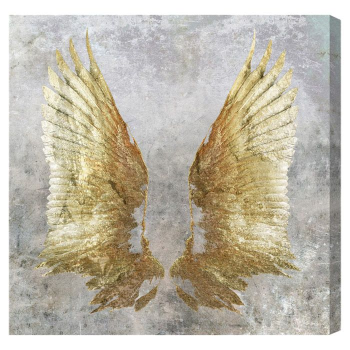 My Golden Wings Canvas Print, Oliver Gal