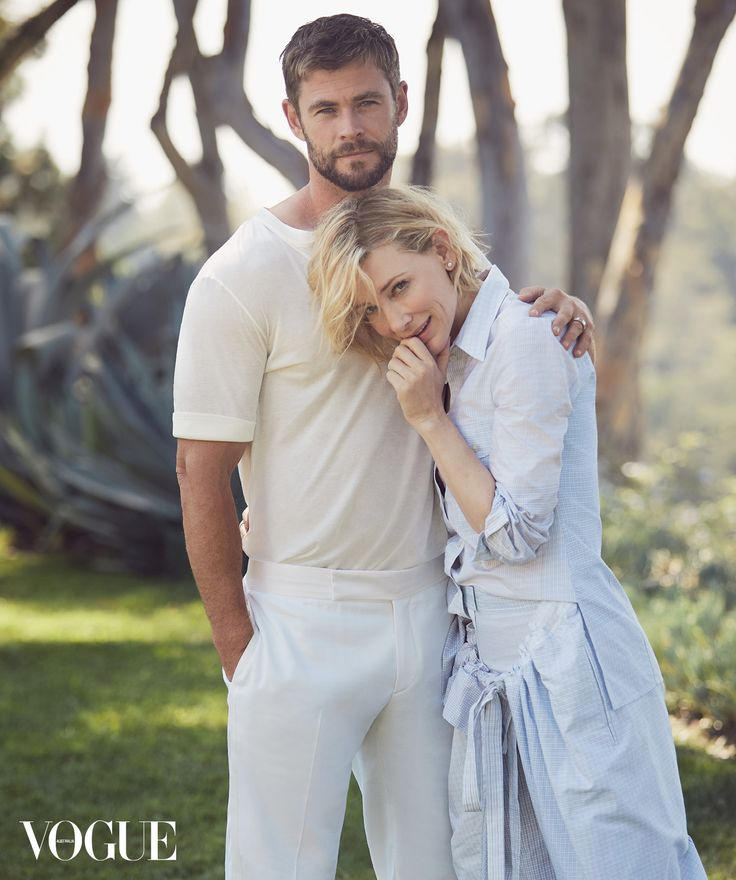 First look: Cate Blanchett and Chris Hemsworth cover Vogue Australia's November 2017 issue - Vogue Australia