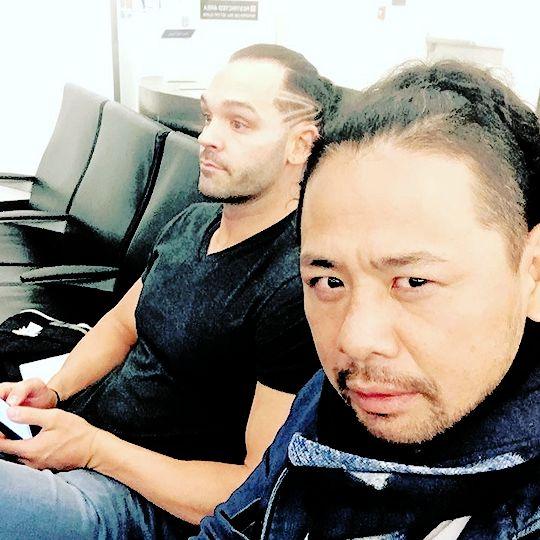 Shinsuke Nakamura and Tye Dillinger