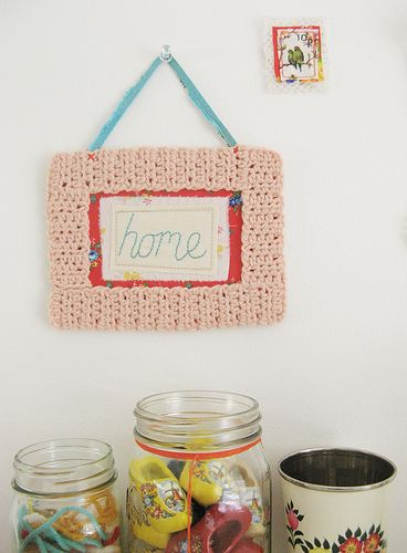 a handcrafted home. 