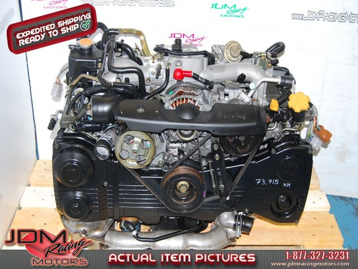 Impreza WRX 02-05 EJ20 Turbo Motor, Quad Cam AVCS 2.0L Engine.  Find this item on our website: https://www.jdmracingmotors.com/engine_details/2206  Tags:  #wrx #wrxengine #ej205 #ej20 #ej20t #wrxmotor #jdm #jdmracingmotors #my02 #my03 #my04 #my05