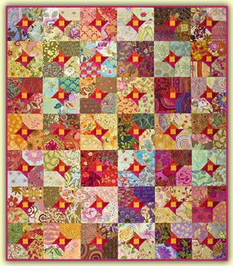 Double Or Queen Size Bed Quilt Pattern Twinkle I Really
