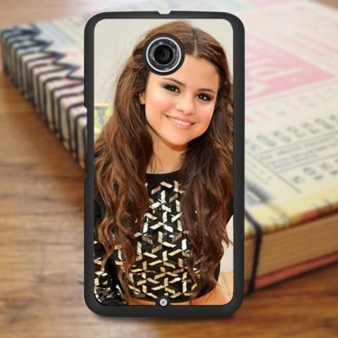 Selena Gomez Beautiful Smile Nexus 6 Case