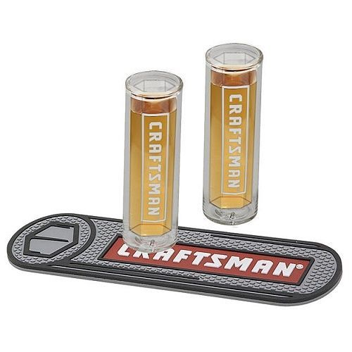NEW Craftsman Socket Shot Glass Set in Collectible Tin #Craftsman