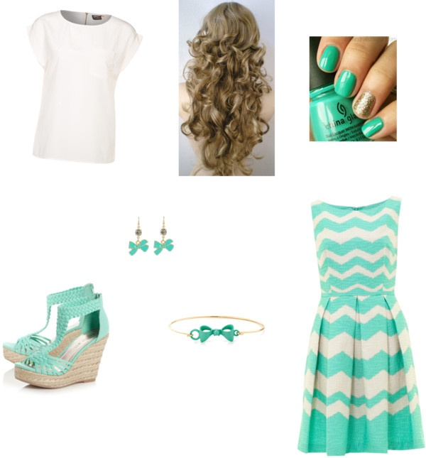 8th grade graduation outfit by smvehar  liked on Polyvore