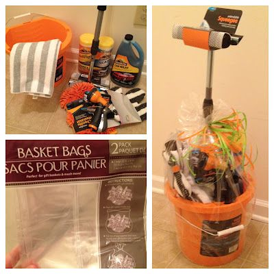 Adventures in crafting, cooking, and couponing!: DIY Gift | Car Wash Basket