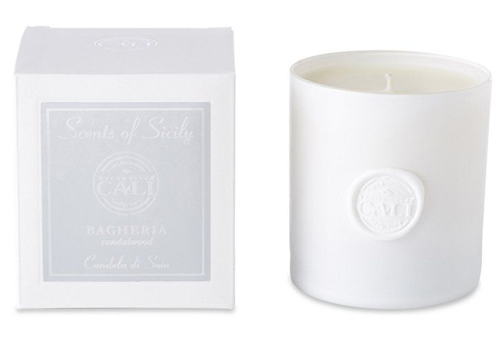 Make your small space instantly smell like home with a beloved scented candle.