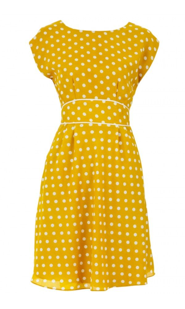 Louche Vale Spot Bow Dress