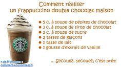 La Délicieuse Recette du Frappuccino Chocolat Fait Maison.