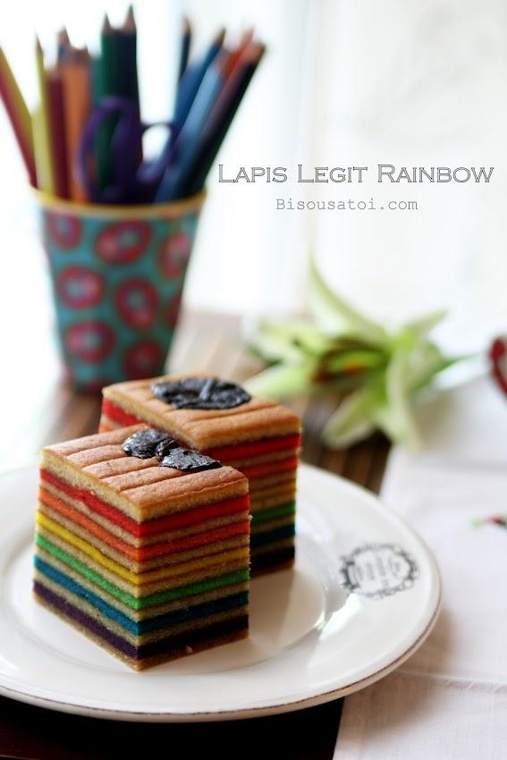 Lapis Legit Rainbow