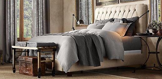 Restoration Hardware Fairmont King Bed