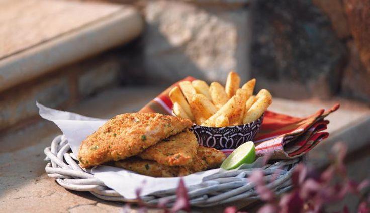 Peri-Crunchy Herb Chicken