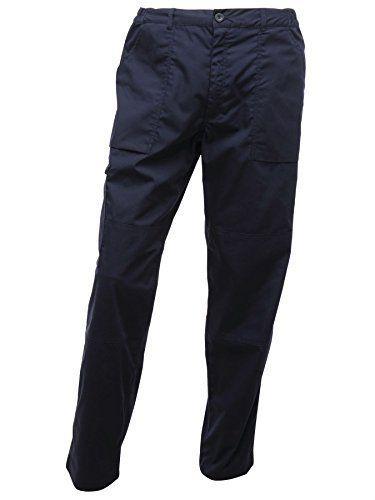 From 14.67:Regatta Men's Action Multi Pocket Walking Trousers - 40w X Regular - Navy | Shopods.com