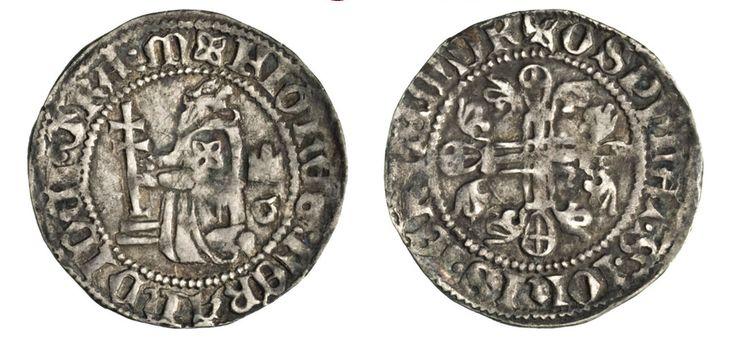 NumisBids: Numismatica Varesi s.a.s. Auction 67, Lot 492 : RODI JUAN FERNANDEZ DE HEREDIA (1376-1396) Terzo di Gigliato. ...