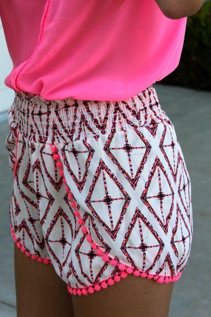 Pom-Pom Shorts ♥ Follow my Pinterest ♥ spumford ♥ i wanna make it to 1k ♥