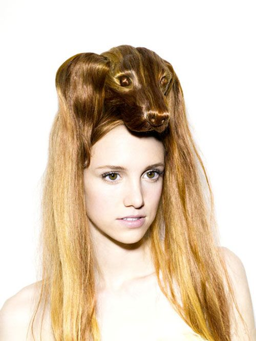 Nagi Noda Hair Hats-- totally weird but also kind of awesome.