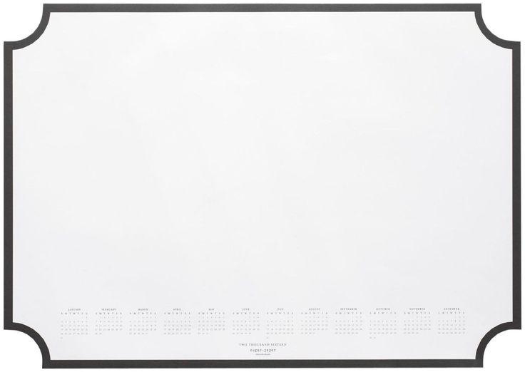 Amazon.com - Sugar Paper Desk Blotter, Black -