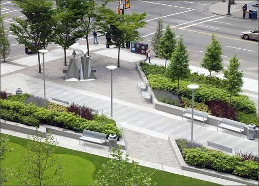 Bentall 5 plaza vancouver bc vegetation brookville for Bc landscape architects