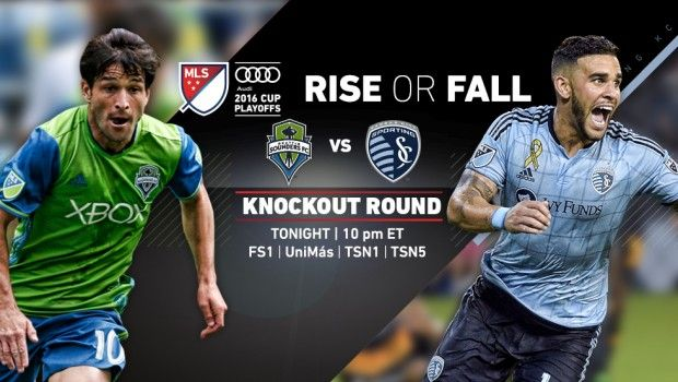 SPORTS And More: #MLS playoffs live on #FoxSports1 #Seattle #Sounde...