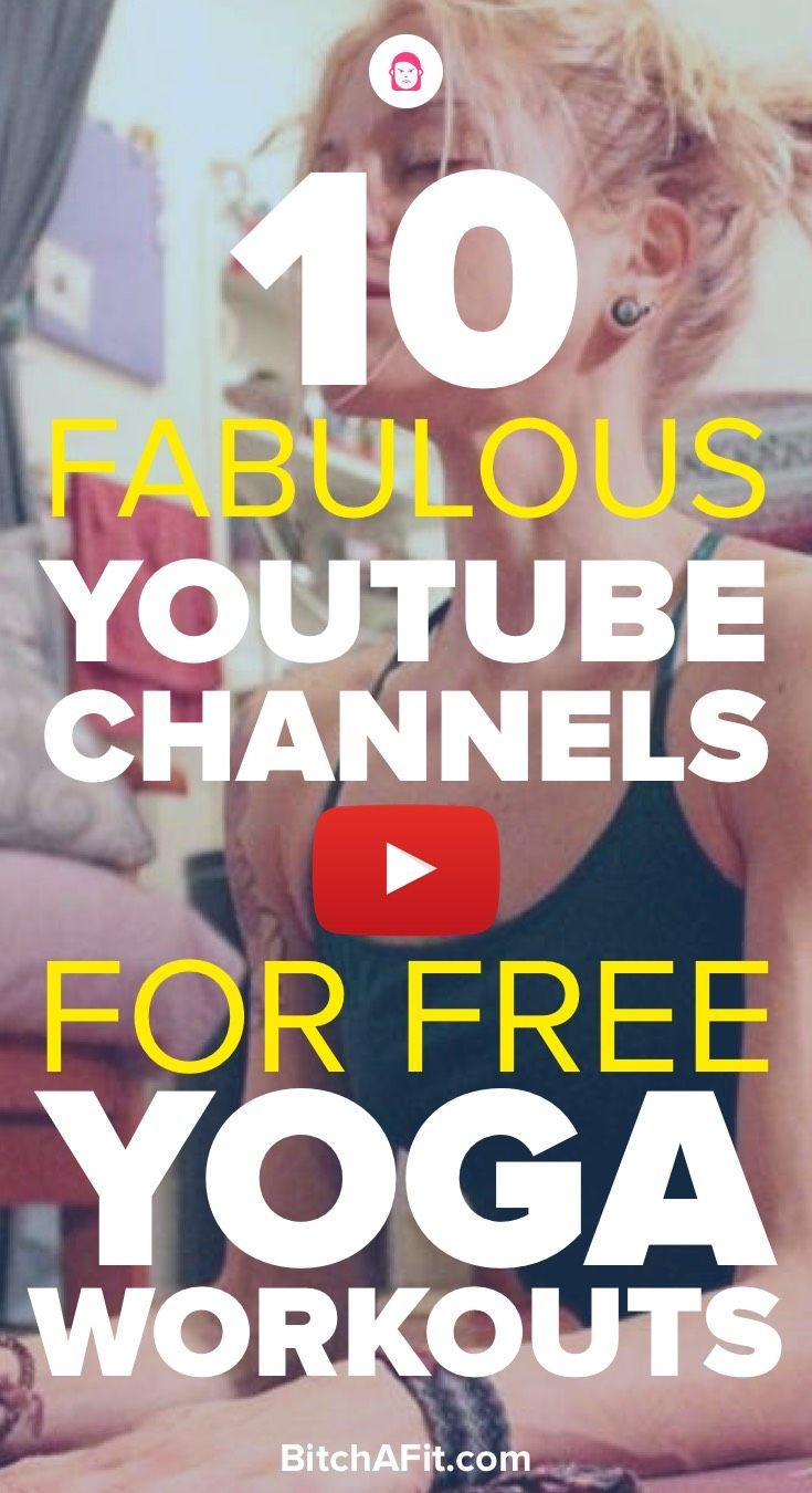 Looking for awesome yoga workouts to help you lose weight and gain flexibility? Here are 10 YouTube channels that offer awesome free yoga workouts.