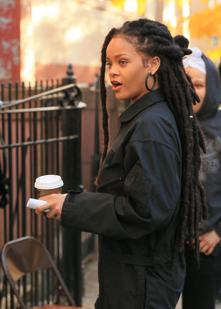 Rihanna On The Set Of Ocean S 8 11 9 Rhianna Dread