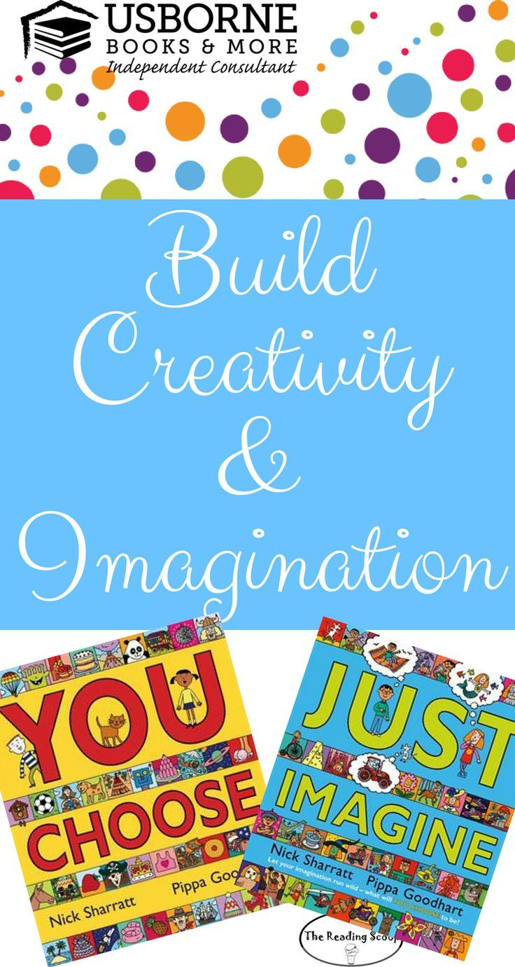 Perfect books to develop imagination and creativity the