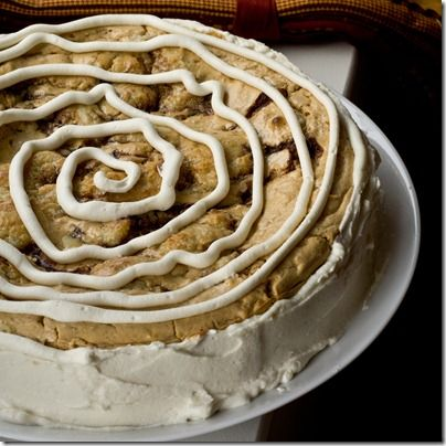 Pumpkin Cinnamon Roll Cheesecake - it doesn't get much better than this