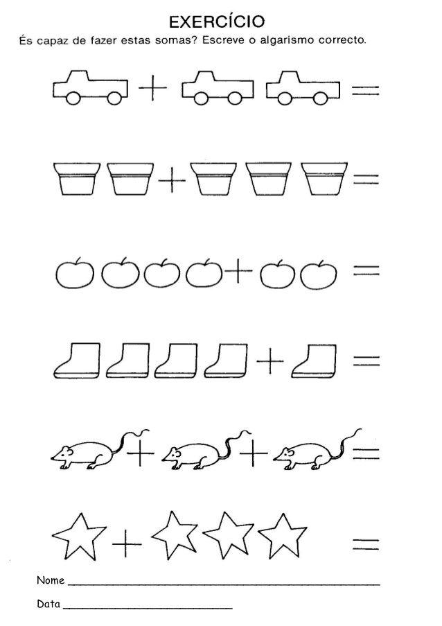 Atividades De Calculo Pre Escolar Atividades De Matematica Pre