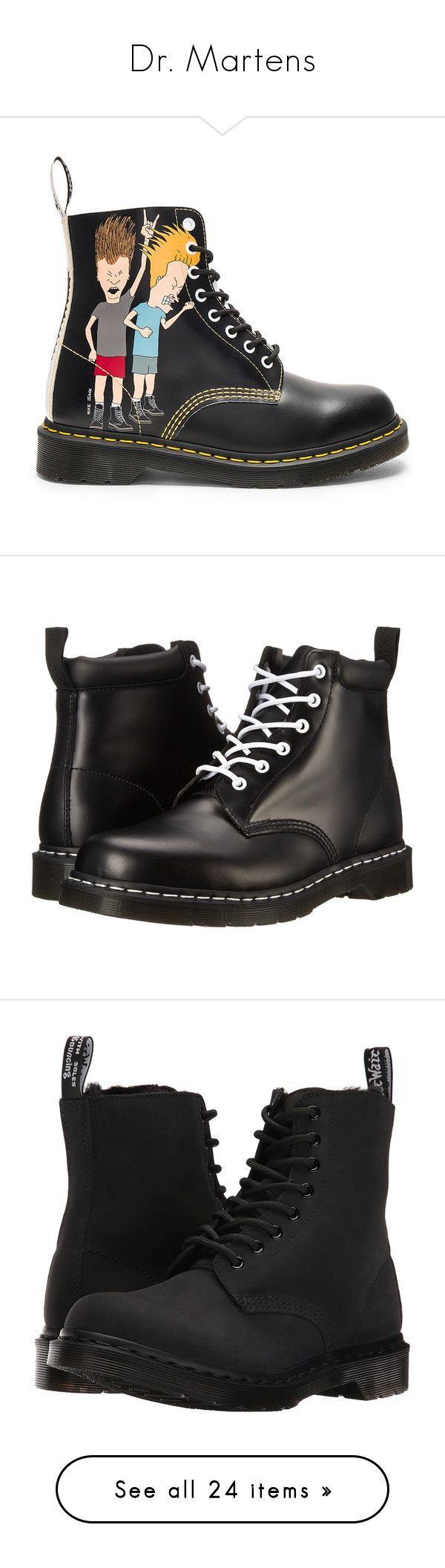 """""""Dr. Martens"""" by alexfabulouskilljoys ❤ liked on Polyvore featuring men's fashion, men's shoes, men's boots, boots, mens lace up boots, mens lace up shoes, dr martens mens boots, dr martens mens shoes, shoes and ankle booties"""
