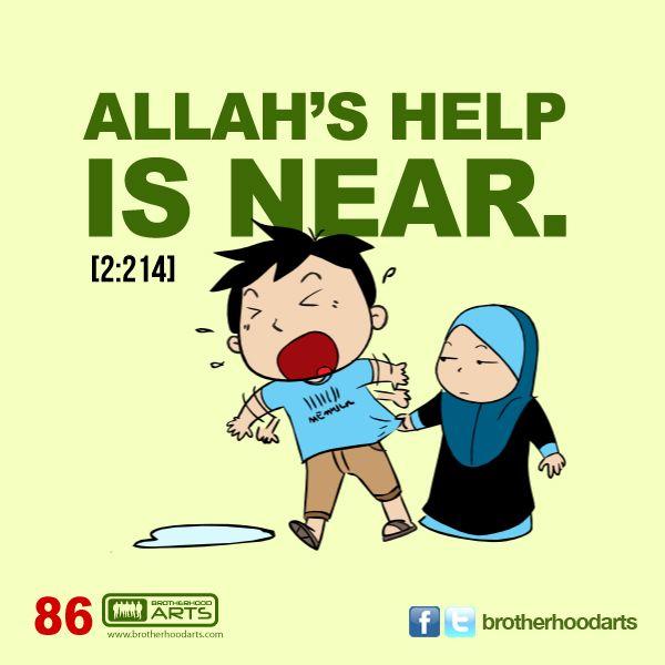 """#086 Ahmad Says: """"Allah's help is near."""""""