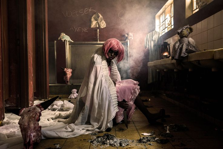 Childhood myth comes to life in this chilling photographic portrayal of 'Pinky-Pinky'