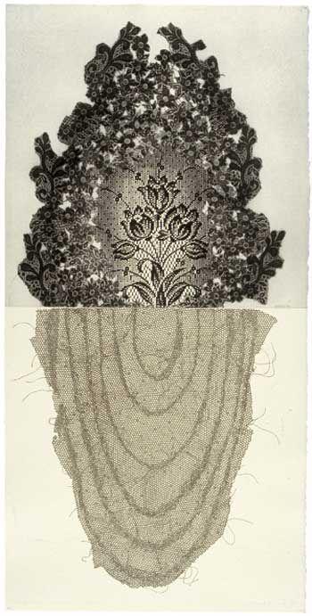 Raymond Arnold - Memory/History - Trench foot/Gangrene couronne etching - Bett Gallery Hobart