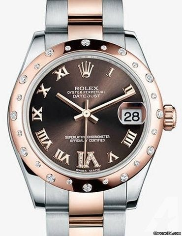 Rolex Oyster Perpetual Datejust Lady 31 Steel and Everose Gold - 178341-OCHC