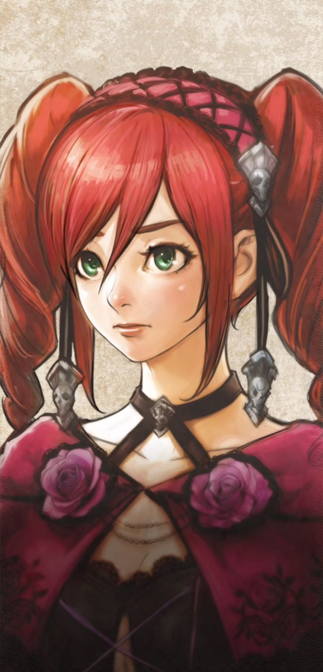Amy Story Portrait character artwork from Soulcalibur VI