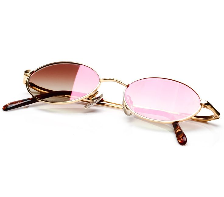 Paolo Gucci 7455 HINI 21K Gold Plated (Light Brown Gradient Flash Red)