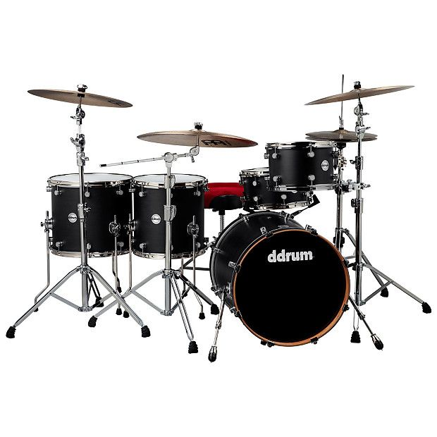 We are Amp'd GuitarsAn Authorized DDrum dealerThe Reflex RSL Pocket kit is groove personified. Once again relying on a sleek satin finish, and studiously picked drum sizes, ddrum creates a Reflex kit that tackles funk, hip-hop, and soul, with power to spare. The 18x20 bass drum and 7x13 snare, combine to create a groove machine to get people moving. The melodic, evenly spaced rack and floor toms give your grooves added punctuation and punchy fills. If you like to serve your groove up raw and