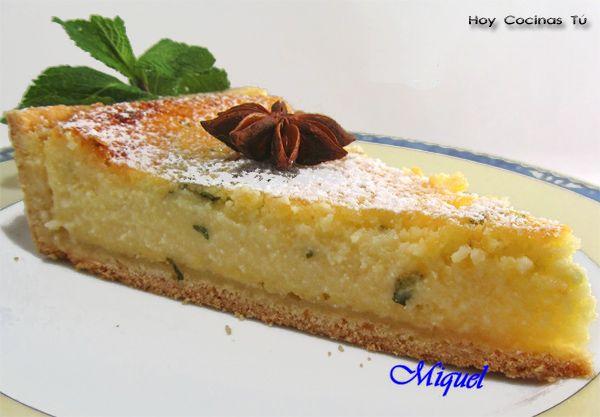 Hoy Cocinas Tú: Flaó (Pastel De Queso De Ibiza)   Gastronomía & Cía - http://gastronomiaycia.republica.com/2012/11/09/hoy-cocinas-tu-flao-pastel-de-queso-de-ibiza/