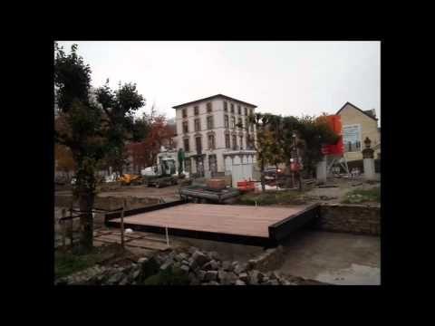 Vestingstad Valkenburg , Halderpark , resten oude stadsmuur weer in het ...