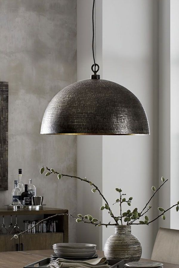 Rodan Hammered Metal Pendant Light Reviews Crate And Barrel